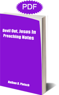 Devil Out, Jesus In Preaching Notes front cover