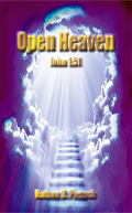This is a cover picture of 'Open Heaven'.
