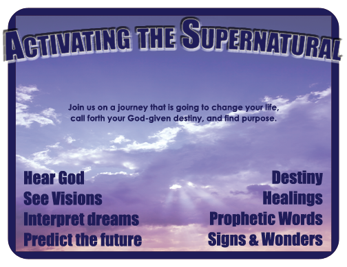 Activating the Supernatural revival meetings