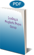 Leading A Prophetic Prayer Group front cover